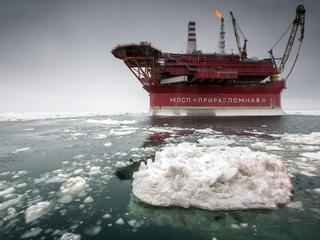 The Prirazlomnaya offshore ice-resistant oil-producing platform