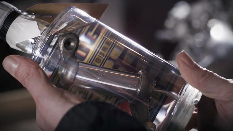 Pierwszy na świecie gin z elementami silnika Harleya Davidsona