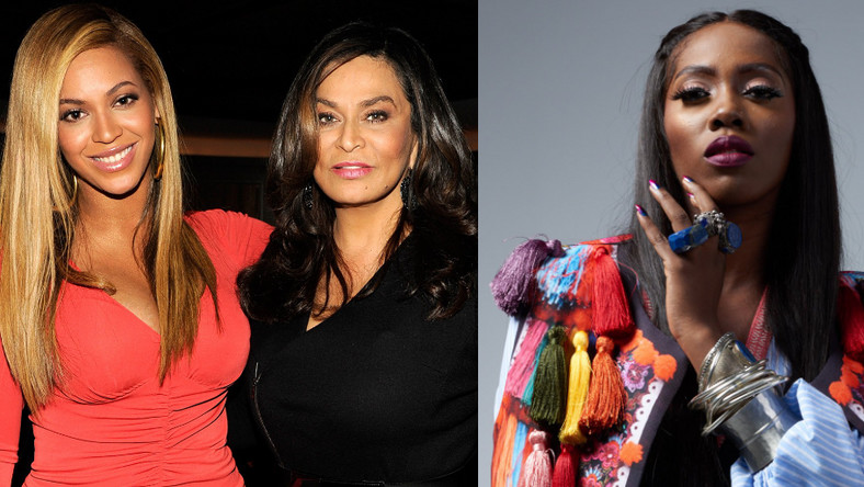 EndSARS: Tiwa Savage and Beyonce's mom, Tina Knowles go back and forth on social media. (GH Gossip)