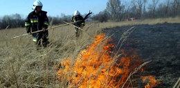 Szok! Umarł podczas wypalania trawy!