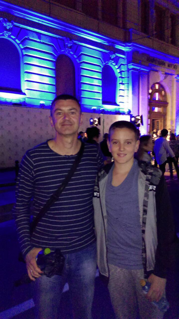 Dečak se nije ni rodio kada je muzej zatvoren: Nenad i Filip Milošević