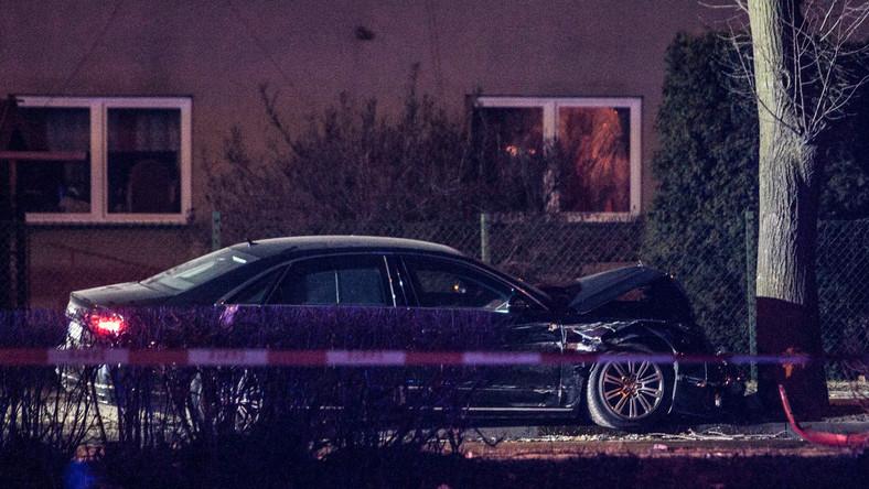 Limuzyna premier Szydło po wypadku