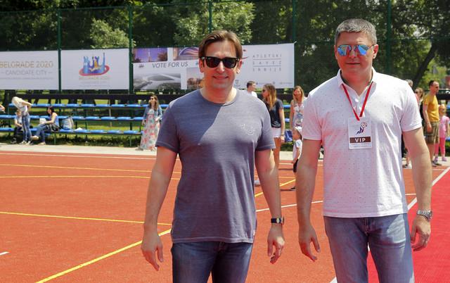Veselin Jevrosimović i Slobodan Branković