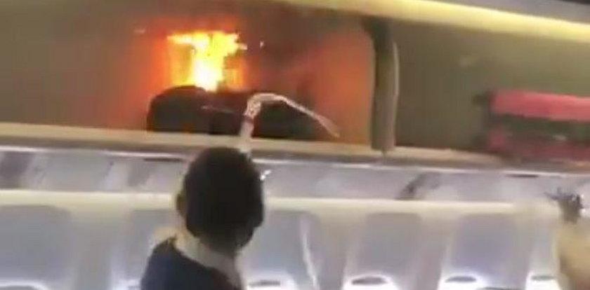 Groza na pokładzie samolotu. Bagaż eksplodował!