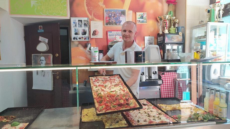 Mariusz to jeden z najciekawszych ludzi kuchni w Krakowie.