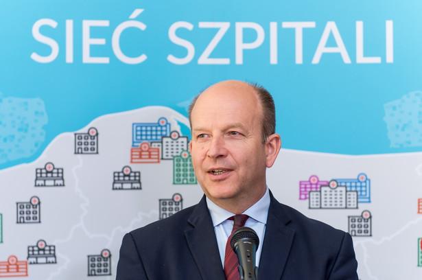 Minister zdrowia Konstanty Radziwiłł, PAP/Maciej Kulczyński