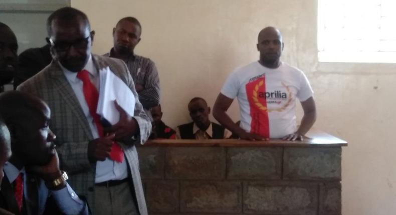 Kiambu MCA Julius Taki in court