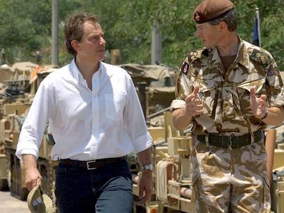 Tony Blair podejmował decyzję o wzięciu udziału Wielkiej Brytanii w inwazji na Irak