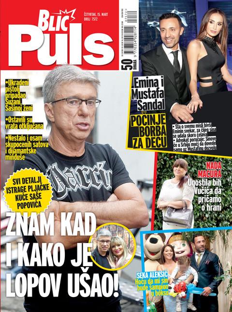"""EKSKLUZIVNO! Novi """"BLIC PULS"""": Svi do sada nepoznati detalji pljačke kuće Saše Popovića!"""