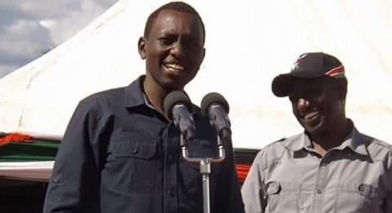 Deputy President William Ruto with his son Nick Ruto