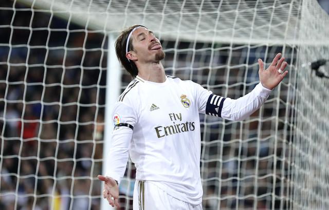 Serhio Ramos u dresu Real Madrida
