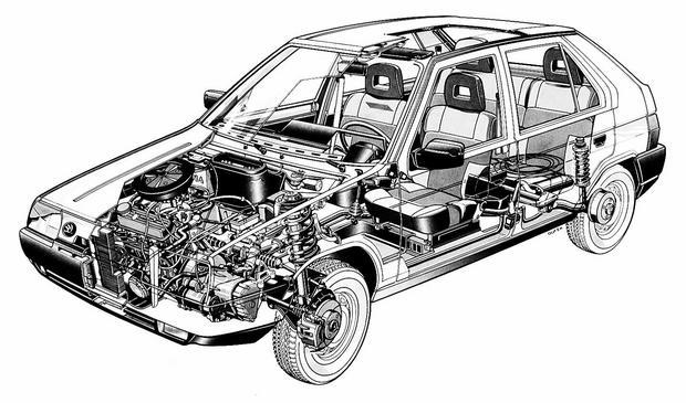 Skoda Favorit - koniec epoki silników z tyłu