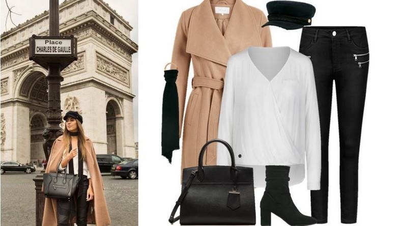 Nasz przegląd i krótki opis każdego z miast zaczynamy od Paryża. Podstawą francuskiego stylu są proste i minimalistyczne stylizacje. Mimo iż Paryżanki kochają trendy nie zapominają o podstawach, które stały się ich znakiem rozpoznawczym. Francuzki uwielbiają czarne dopasowane spodnie, białe koszule i proste wełniane płaszcze. Wszystko oczywiście wykonane z dobrej jakości tkanin. Do tego modna w tym sezonie apaszka i kaszkiet – oto kwintesencja paryskiego stylu!