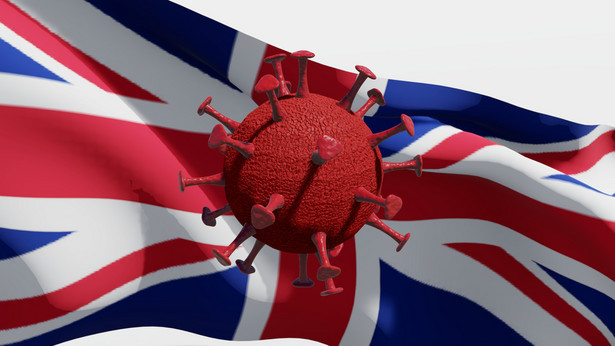 Koronawirus. Wielka Brytania. COVID-19