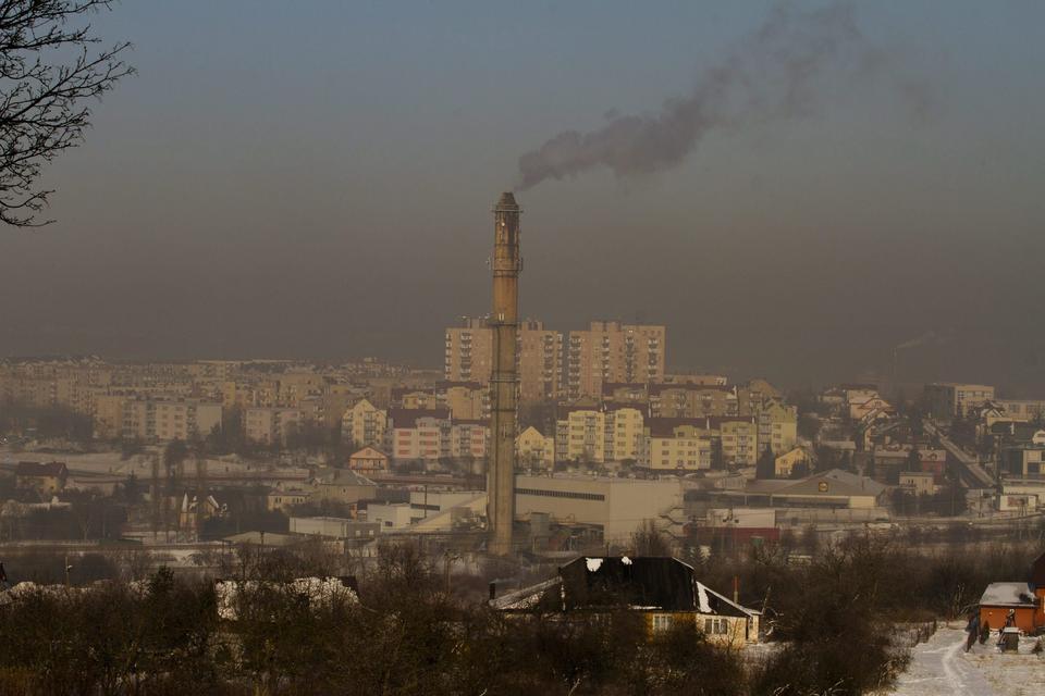 Smog w Kielcach