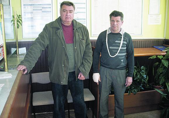 Dragan Grubor i Boško Vuković su bez imalo straha zaskočili pljačkaša koji je iz pošte u Bačkoj Palanci pokušao da pobegne s plenom od 350.000 dinara