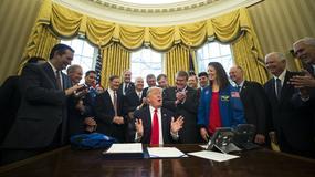 Trump podpisał budżet NASA, jednym z celów eksploracja Marsa