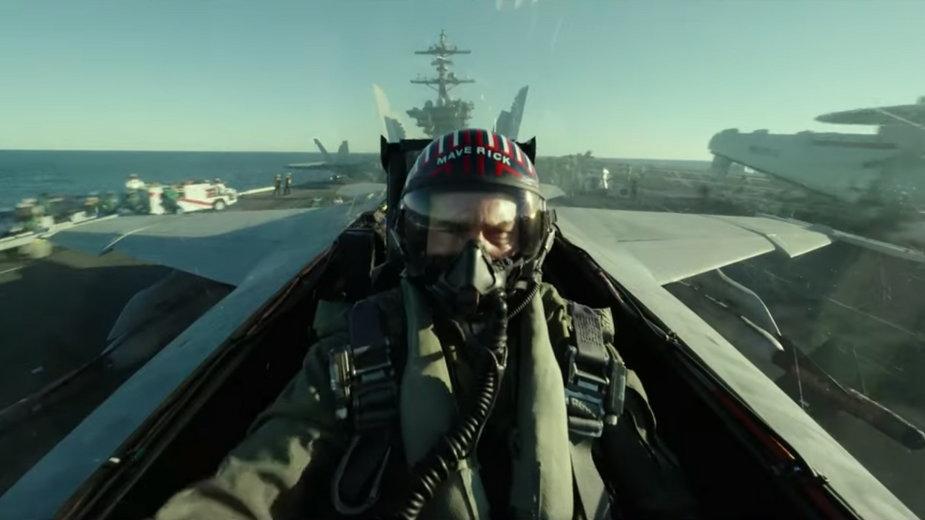 "Tom Cruise w filmie ""Top Gun: Maverick"""