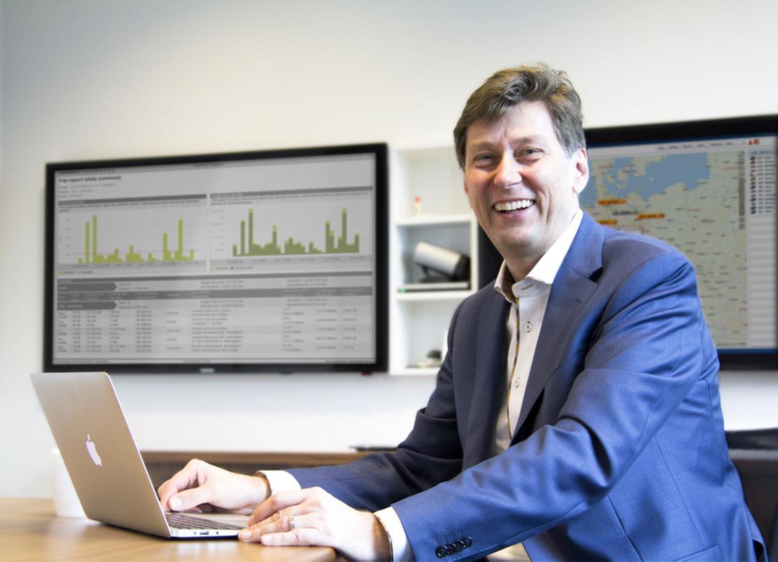 Thomas Schmidt, dyrektor zarządzający TomTom Telematics