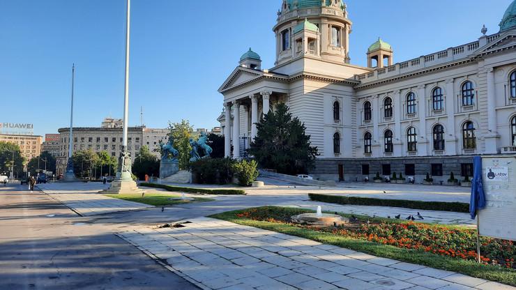 Beograd, jutro posle protesta