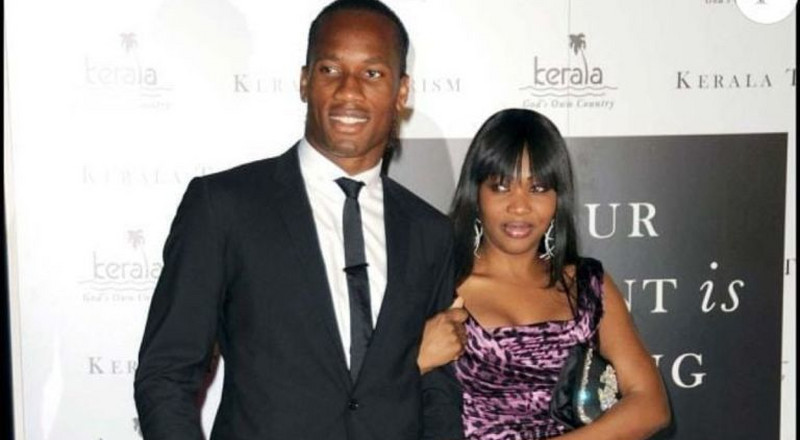 Didier Drogba and his wife divorce after 20 years of marriage