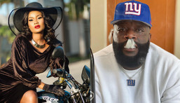 Rick Ross and Hamisa Mobetto