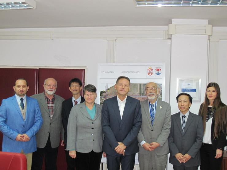 Hemijski fakultet, simpozijum o zagađenju sa japanskim naučnicima