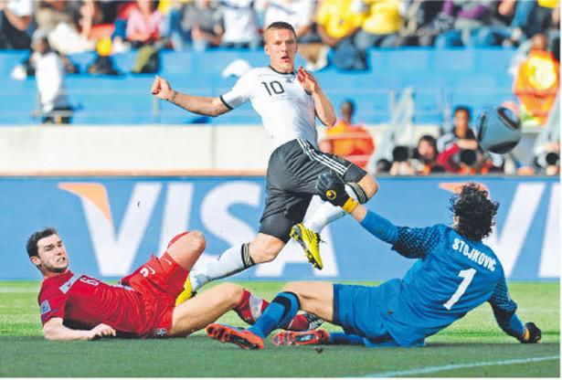 Mecz Niemcy – Serbia obejrzało w sieci 34 tys. Polaków Fot. AFP