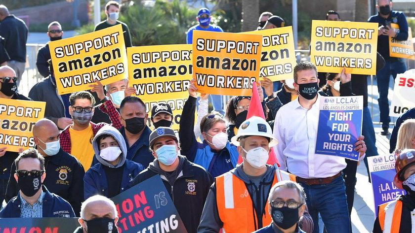 Pracownicy Amazona chcą założyć związek zawodowy