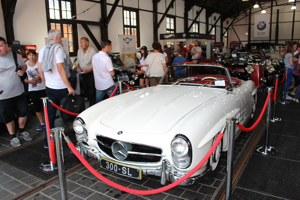 Mercedes 300 SL roadster (1957-63)