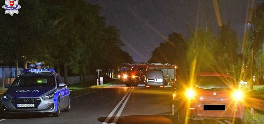 Tragedia w Radzyniu Podlaskim. 19-latek przejechał leżącego na drodze mężczyznę