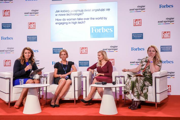 Panel: How women are taking over the world by dominating crucial areas which are shaping the future: technology