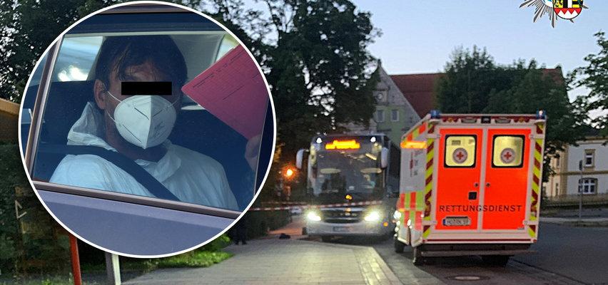 Nowe informacje o podejrzanym o zabójstwo polskiego kierowcy. Miesiąc temu zaatakował nożem po raz pierwszy