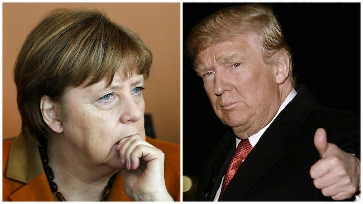Angela Merkel, Donald Tramp, Kombo