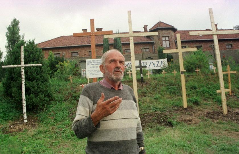 Kazimierz Świtoń - obrońca krzyża