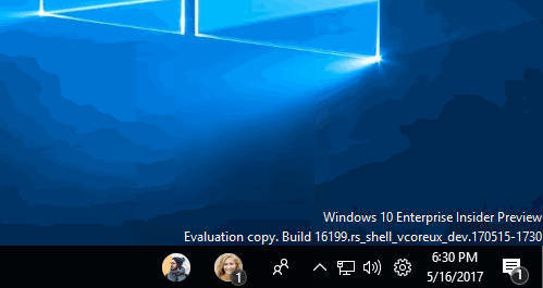 Windows 10 build 16199 z nową ikonką