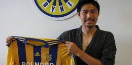 Japończyk ubrał kimono i podpisał kontrakt z Arką