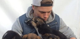 Srebrny medalista ratuje psy w Soczi!