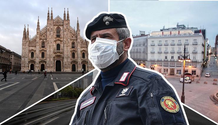 policijski cas kombo RAS Anadolija Pier Marco Tacca, EPA alessandro di marco, EPA Roman Pilipey