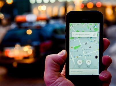 Tylko 30 proc. potencjalnych użytkowników Ubera posiada karty kredytowe