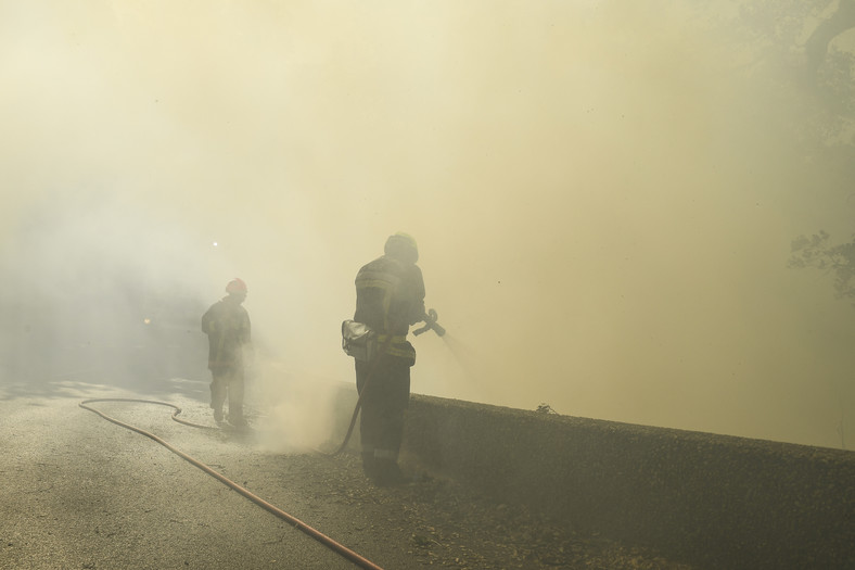 France : grand incendie sur la Côte d'Azur