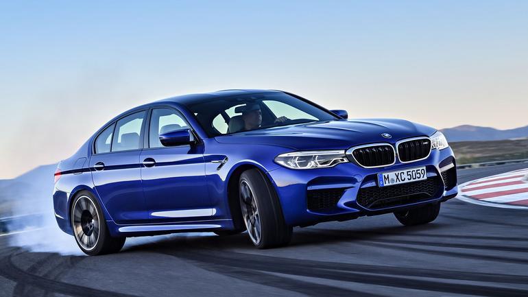 BMW M5 - perfekcyjnie mocne BMW