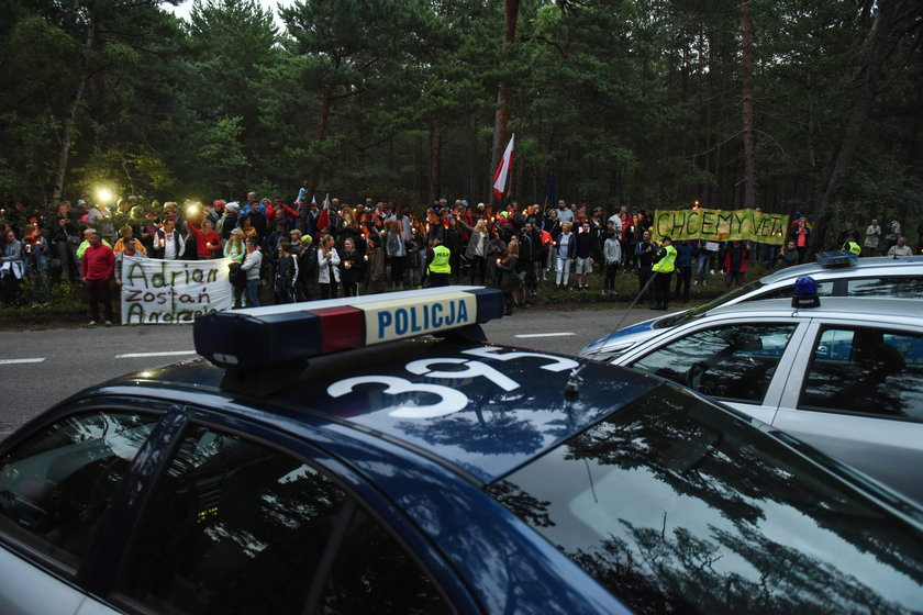 Protesty w Juracie