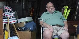 Umierający weteran wyprzedaje swoje rzeczy, by zarobić na pogrzeb