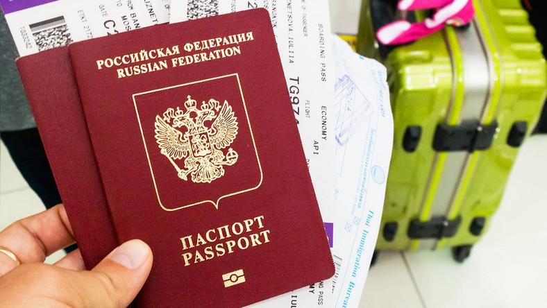 Rosyjski paszport