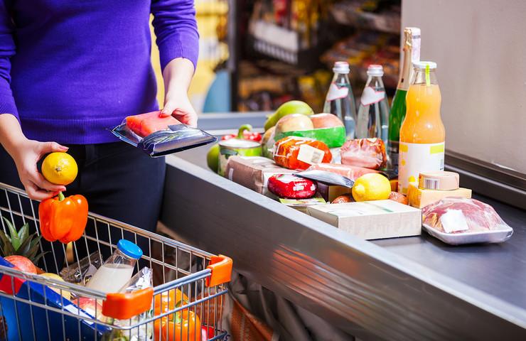 supermarket, plaćanje, kupovina, prodavnice