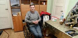 Niepełnosprawny Mirosław chce godnie żyć. Na początek potrzebny podjazd do domu