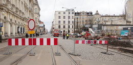 Tunel pod Łodzią. Budowa wyłączyła komunikację. Zmiany tras MPK