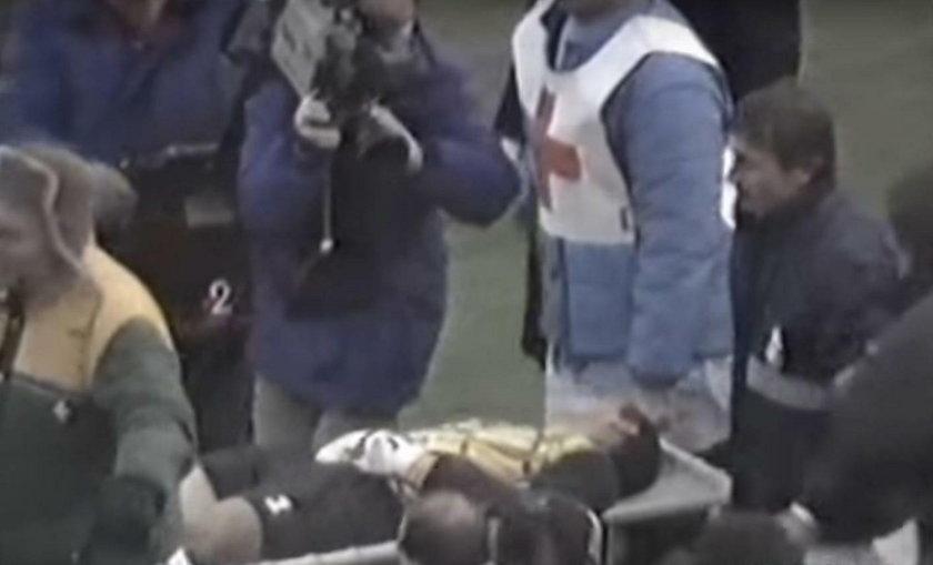 W grudniu 1987 roku podczas meczu AC Milan z AS Romą mogło dojść do tragedii