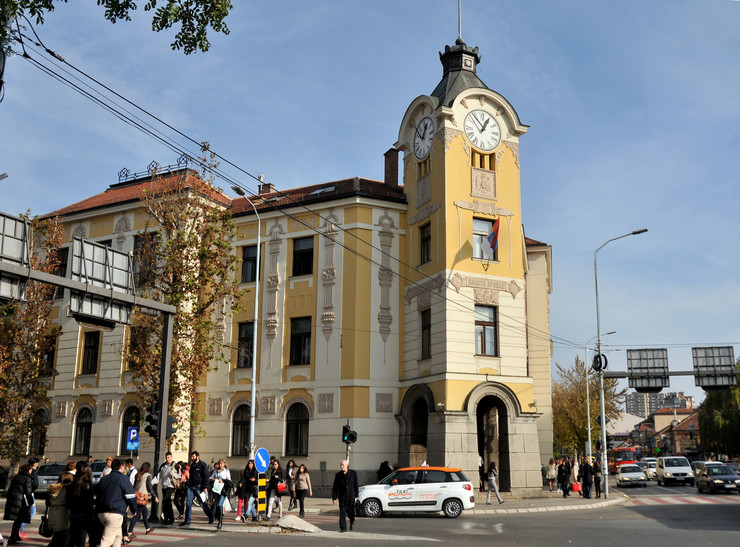 Zgrada Palata pravde u Nisu K Kamenov